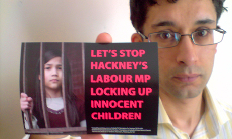 Liberal Democrat parliamentary candidate Dave Raval has criticised Meg Hillier over the detention of children at Yarl's Wood