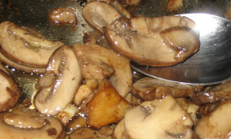 how to make garlic mushrooms on toast