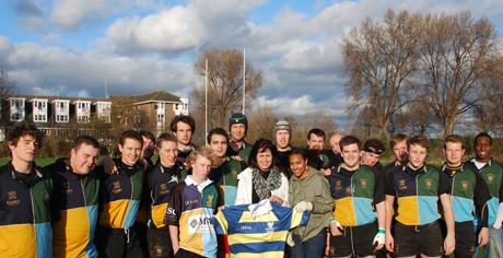 Hackney RFC raised over £2,000 for local children's charity Hackney Quest