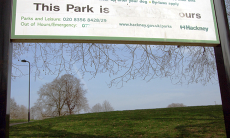 Hackney Downs: this park is ours