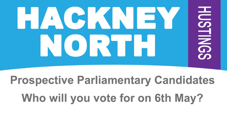 Hackney North Hustings top 001