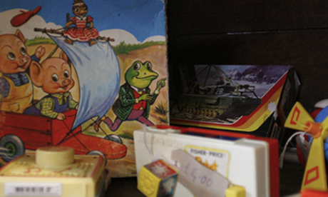 Vintage toys at Three Potato Four, Newington Green