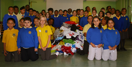 School bags for year 10 - Year 5 Students At London Fields School With Their Plastic Bag