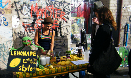 Hackney Wick flea market