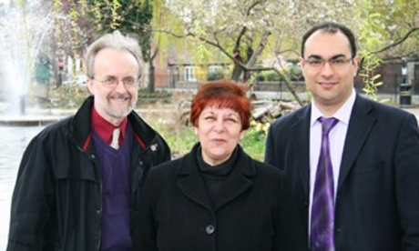 Councillors Ian Rathbone, Linda Kelly and Deniz Oguzkanli