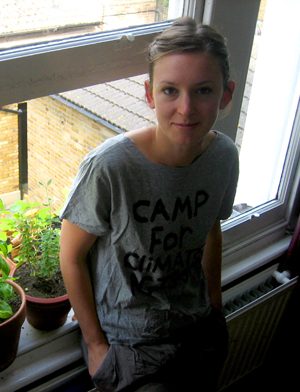 Dalston resident Lynn Chambers is off to Climate Camp this week