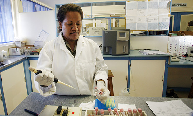 pathology laboratory DFAT Australian Aid via Flickr