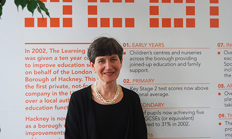 Anne Canning, the head of the Learning Trust