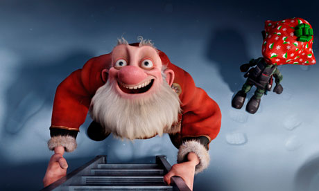 Arthur Christmas Characters.Arthur Christmas Review Hackney Citizen
