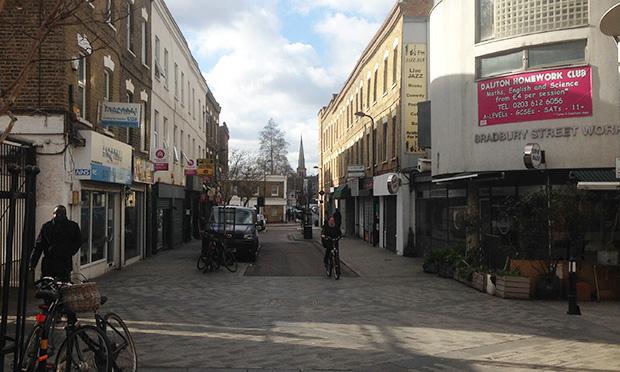 Bradbury Street Crossrail 2