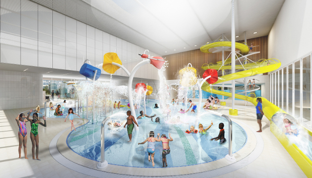 Brittania children's pool. Image: LA Architects