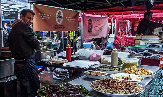 Chatsworth Road market traders