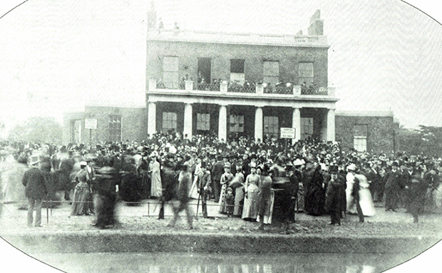 Official opening ceremony of Clissold Park on 24 July 1889