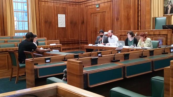 Sharon Patrick Caroline Woodley James Peters Hackney Licensing Sub-committee