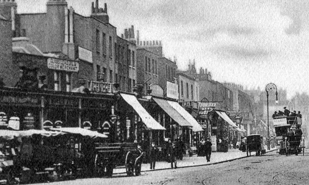 Dalston Lane in 1900