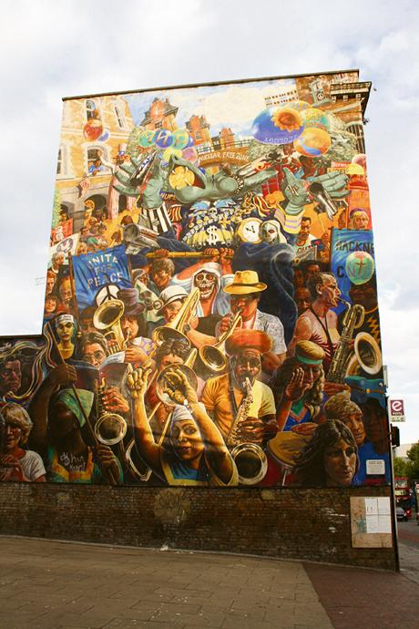 Dalston Lane mural