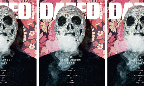Dazed May 2012 cover
