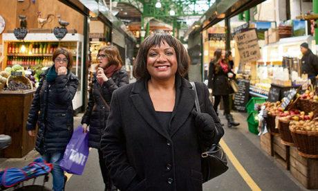 Calling for more new homes: Diane Abbott MP