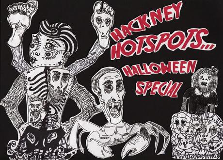 Halloween hotspots Hackney