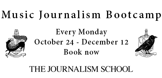 Music Journalism Bootcamp - 24 Oct - 12 Dec