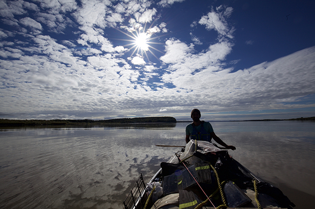 Adam Weymouth on the Yukon River