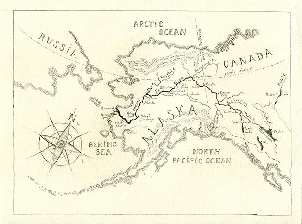 Map Of Canada Yukon River.Kings Of The Yukon An Alaskan River Journey Review Hackney Citizen