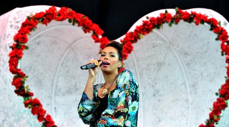 Leona Lewis Hackney Weekend