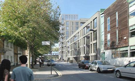 London Lane proposal PRP Architects