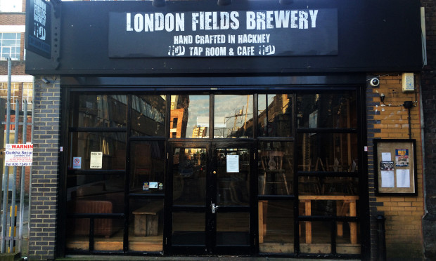 London Fields Brewery. Photograph: Hackney Citizen