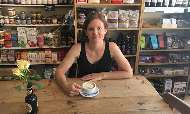 Advice: Marina Biaudet in her Dalston shop. Photograph: Healthy Stuff