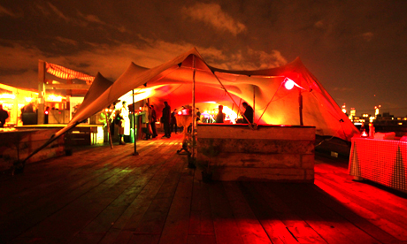 Netil360 Winter Rooftop Bar Opens Hackney Citizen