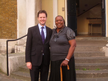 Nick Clegg Pauline Pearce