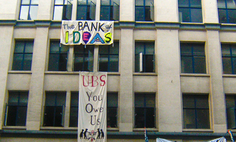 Occupy London Bank of Ideas