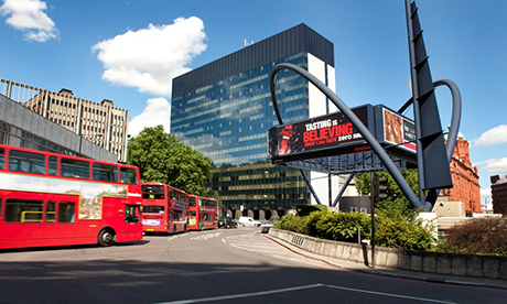 Heart of tech: Old Street roundabout. Photograph: Tech City UK