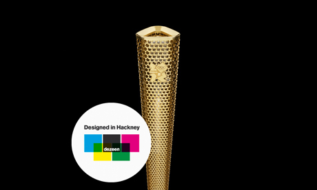 Olympic Torch Dezeen