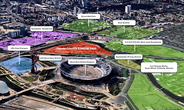 Impression of regeneration plans for the Olympic Park