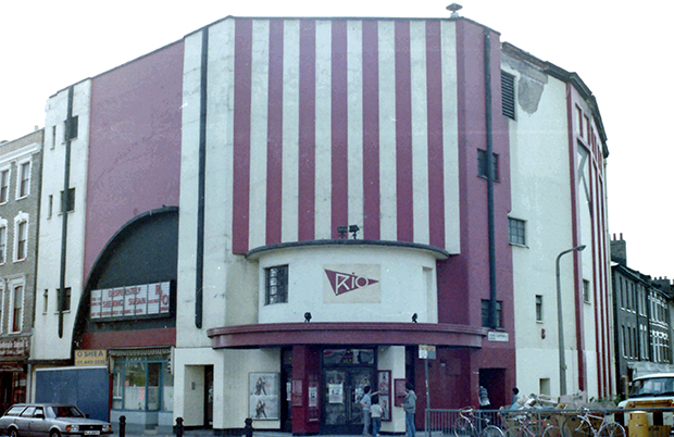 The Rio Cinema in 1985