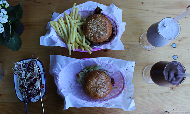 Burgers and shakes