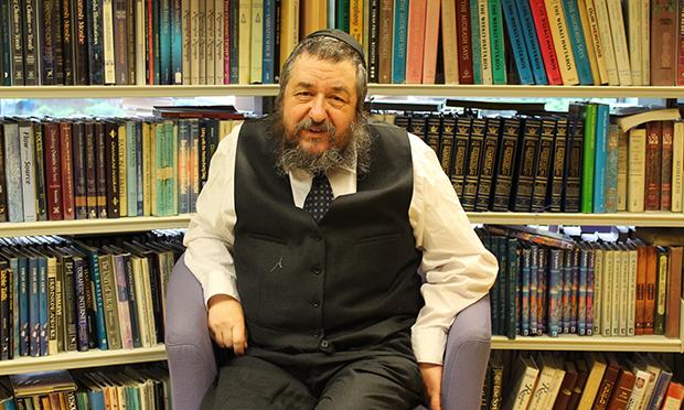 Tzvi Rabin. Photograph: Hackney Museum