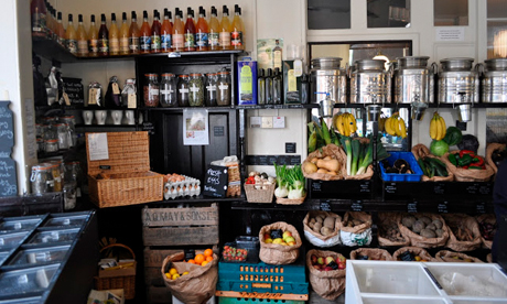 Be unpackaged zero packaging grocery store opens in hackney hackney citizen - Zero packaging grocery store ...