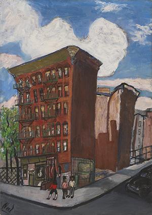 Building in Harlem by Alice Neel