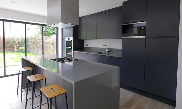 Balau grey kitchen