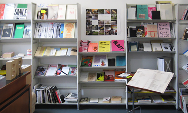 Inside, Banner Repeater holds an impressive collection of zines and art publications too. Photograph: Banner Repeater