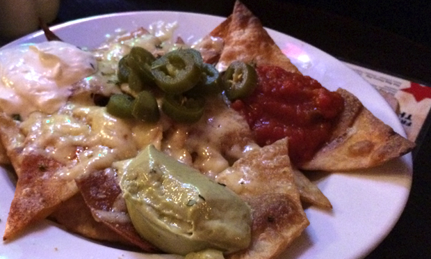 'Some of the best nachos I've ever had'. Photograph: Lucie Heath