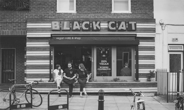 Souperheroes: the Black Cat Cafe. Photograph: Black Cat