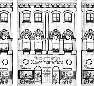 A illustration of Centerprise as it looked in the 1970s. The image was provided by Ken Worpole