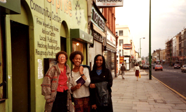 """""""A hive of creativity, activism and social fizz"""": outside Centerprise. Photograph: Maggie Hewitt"""