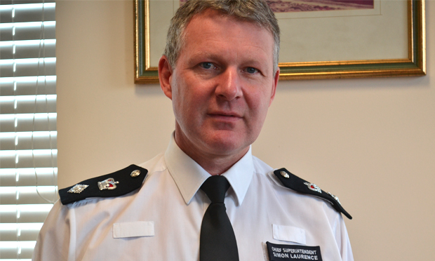Chief Superintendent Laurence.