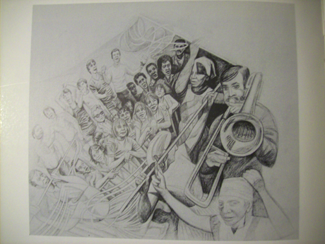 Dalston Peace Mural