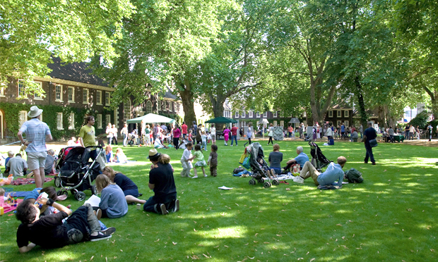 Garden variety: events of both a horticultural and gastronomical nature will be held at the immaculate Geffrye gardens in May. Photograph: Geffrye Museum